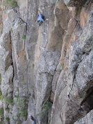 Rock Climbing Photo: A nice shot by JJ.