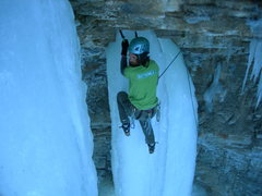 Rock Climbing Photo: Got Milk? Andy Knight on Lancelot pic by Matt Tutt...