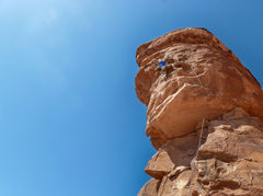 Rock Climbing Photo: Almost there..