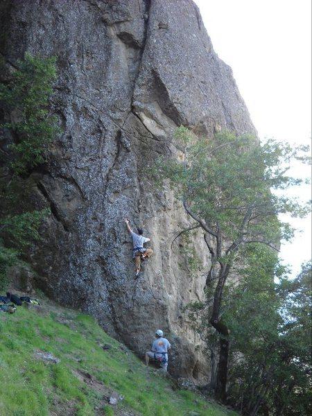 Rock Climbing Photo: Beer factor back in 2011
