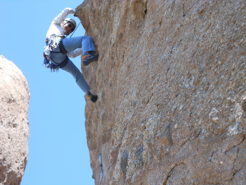 "Rock Climbing Photo: Deciphering the moves on ""Amarillo by Morning..."