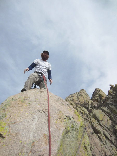 Me on the summit perch.