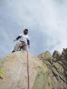 Rock Climbing Photo: Me on the summit perch.