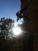 Rock Climbing Photo: Crucifix 8b