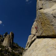 Rock Climbing Photo: Mike Arechiga on, Candy Land. 5.10c, mega classic!