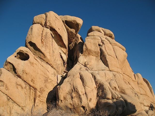 Chimney Rock (W. Face), Joshua Tree NP
