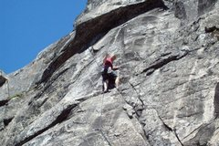 Rock Climbing Photo: Mike Arechiga on, When Joey Comes Marching Home. 5...