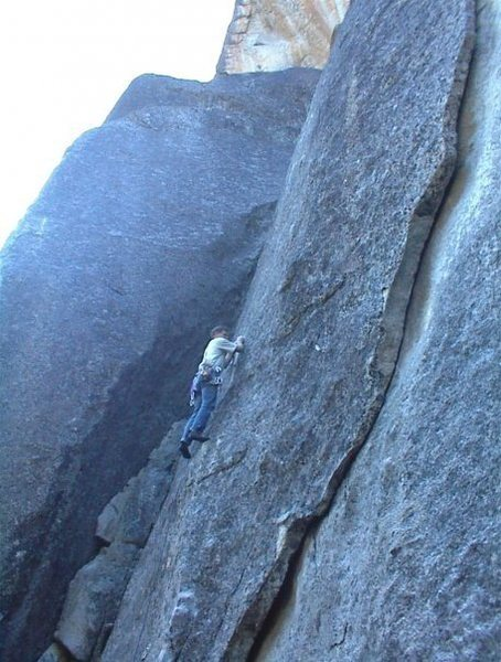 Mike Arechiga on, Blue Velvet. 5.10c.