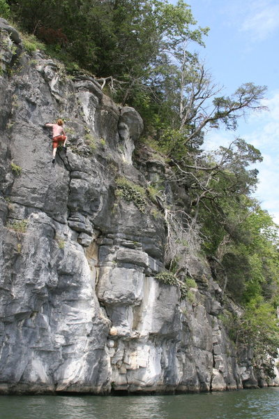Rock Climbing Photo: Good one to start with