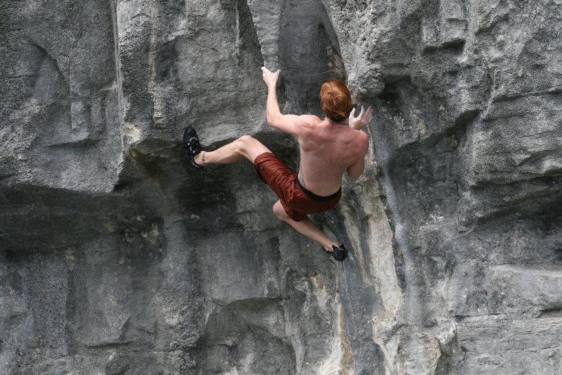 Rock Climbing Photo: Tufa