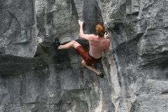Rock Climbing Photo: Tufa