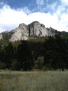 Rock Climbing Photo: The Book Area - Lumpy Ridge
