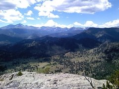 Rock Climbing Photo: The Park from the top of Batman Rock