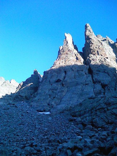 Rock Climbing Photo: Petit Grepon- RMNP
