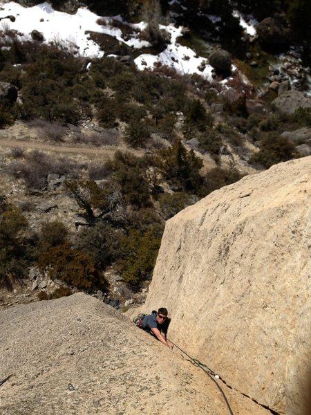 Rock Climbing Photo: Tanner Schoonmaker killing it