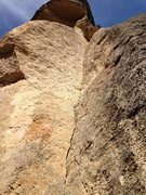 Rock Climbing Photo: The splitter corner