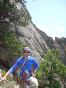 Rock Climbing Photo: After the climb, with Left Book behind, you can se...