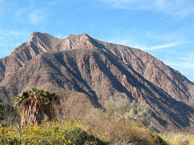 Desert mountains, Anza Borrego SP