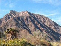 Rock Climbing Photo: Desert mountains, Anza Borrego SP