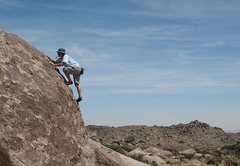 Rock Climbing Photo: Chocolate Boulder, Culp Valley