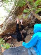 Rock Climbing Photo: Faith Winter on Valhalla.