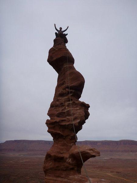 Rock Climbing Photo: ancient art