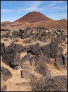 Rock Climbing Photo: Red Mountain. Photo by Blitzo.