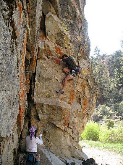 P.H.D. (5.10c), 8000 Foot Crag