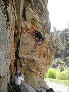 Rock Climbing Photo: P.H.D. (5.10c), 8000 Foot Crag
