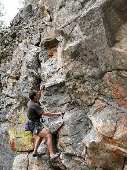 Keep Hope Alive (5.10b), 8000 Foot Crag<br>