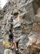 Rock Climbing Photo: Keep Hope Alive (5.10b), 8000 Foot Crag