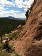 Rock Climbing Photo: Wipyur Buttress Devils Head