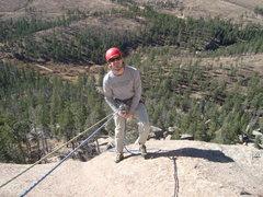 Rock Climbing Photo: Happy on Helen's