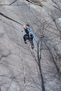 Rock Climbing Photo: Frost on-sight send of a nice route!