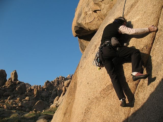 Climbing at Margheritaville, Apple Valley Area