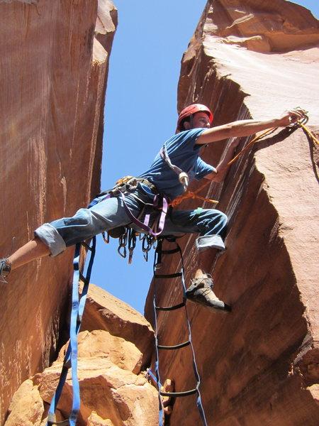 Rock Climbing Photo: bondo on the clip