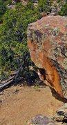Rock Climbing Photo: Weeperhorn's south face.