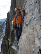 Rock Climbing Photo: Luxury abseil ledge. Ethics are relative...