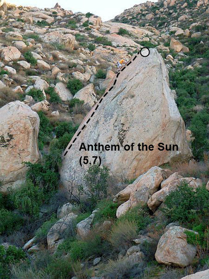 Anthem of the Sun (5.7), Lake Perris SRA