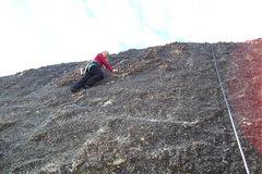 Rock Climbing Photo: Amy Wilkins on,Water Wheel. 5.8.