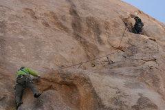 Rock Climbing Photo: Agina Sedler-Rupert belayed by Albert Ramirez.