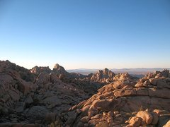 Rock Climbing Photo: Wonderland North overlook, Joshua Tree NP