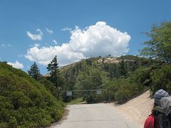 Rock Climbing Photo: Hiking back to the Children's Forest parking area,...