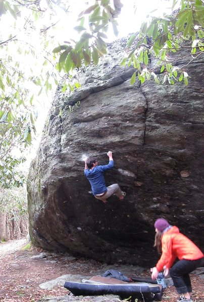 Rock Climbing Photo: Kent on Cronus