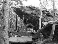 Rock Climbing Photo: Kent on Frites