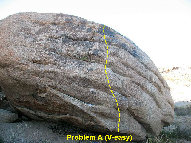 Problem A (V-easy), Joshua Tree NP