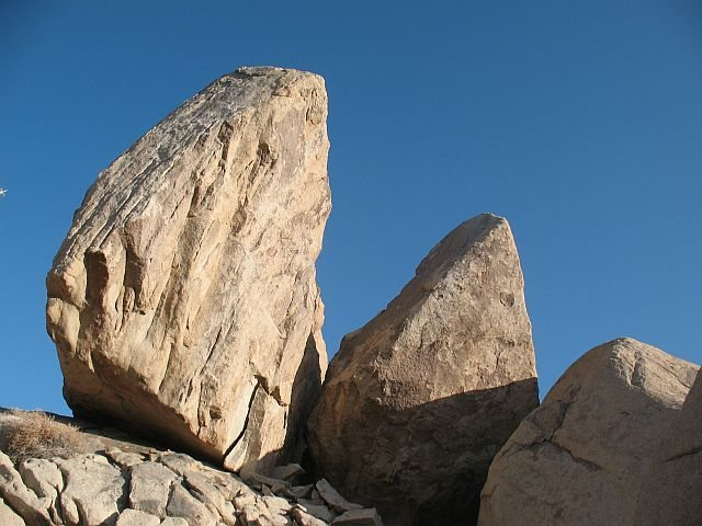 Rock formations near Slashface, Joshua Tree NP