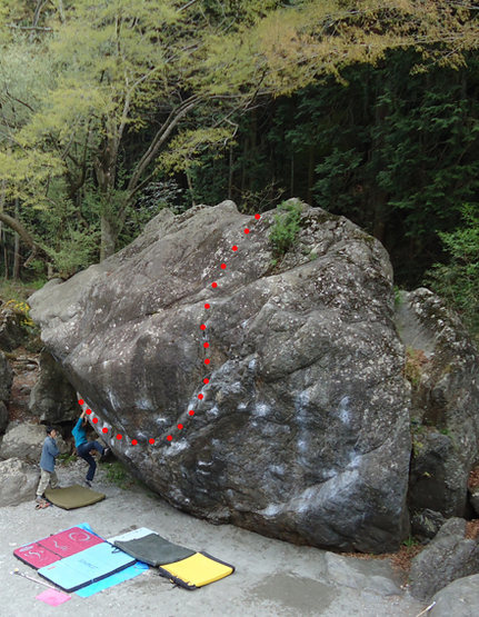 Rock Climbing Photo: Kani 3 D