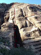 Rock Climbing Photo: Saddle Up