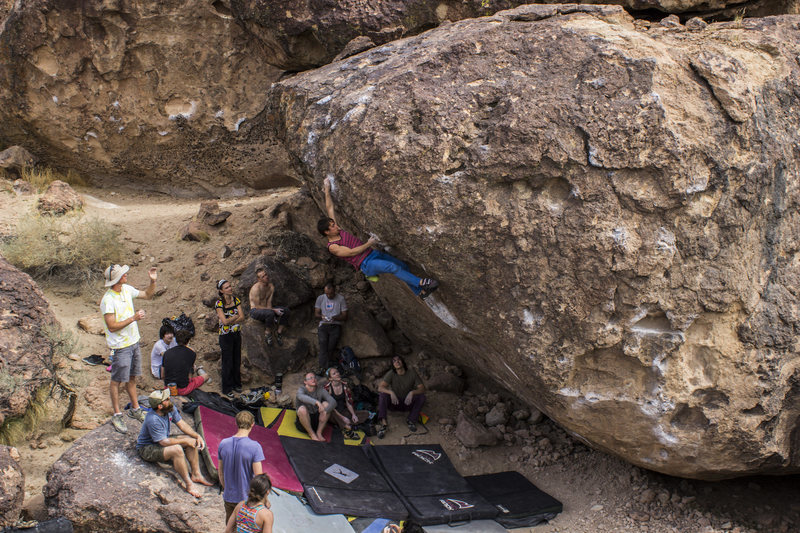 Rock Climbing Photo: Me on Strength in Numbers